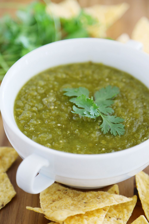 Hatch Green Chile Salsa Verde Hatch Green Chile Roasted Green Chile Green Chili Salsa