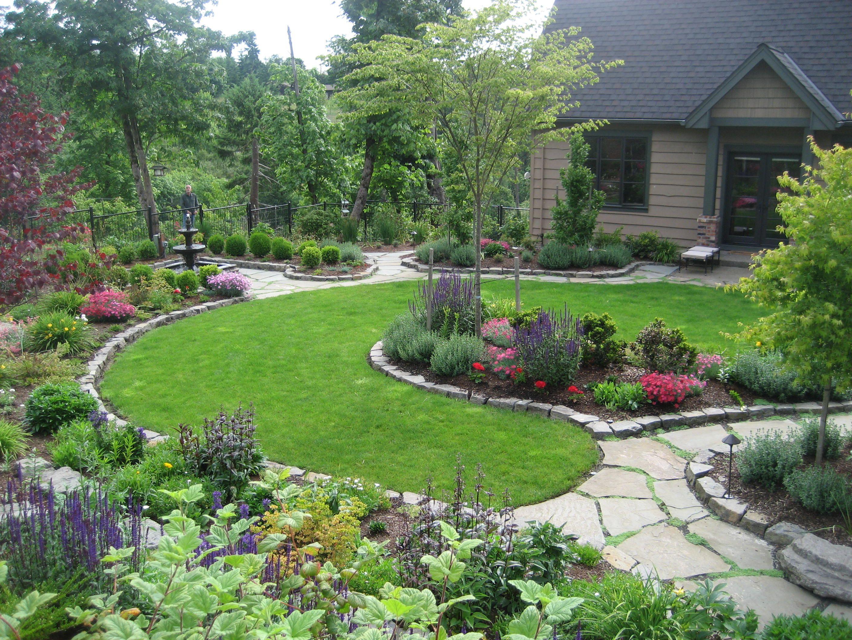 Beautiful Perennial Garden!!   #landscape