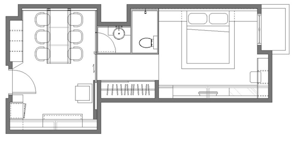 Small Flat Plan small flat plan - home design