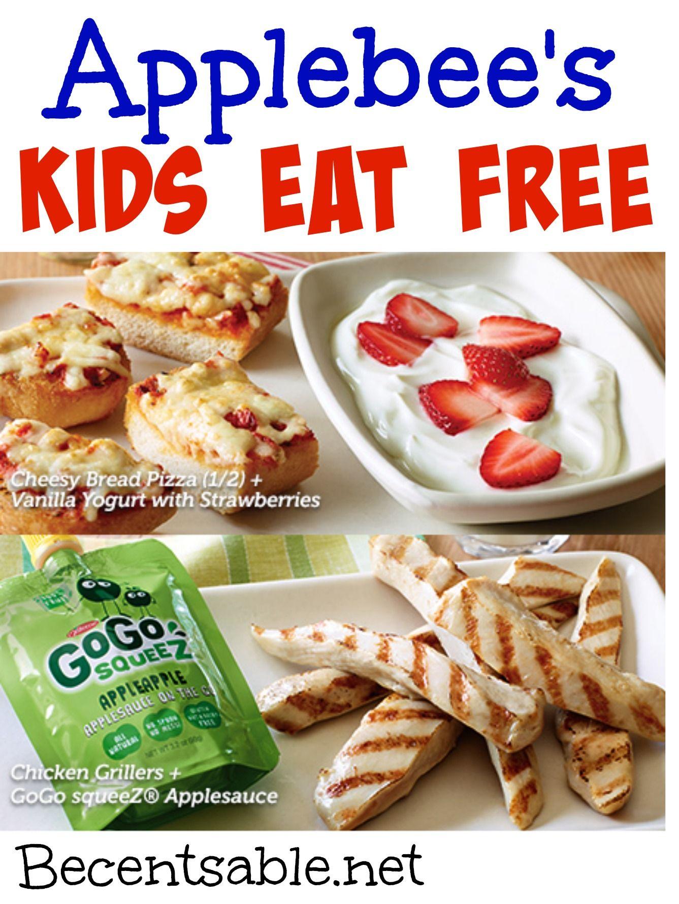 DO KIDS EAT FREE AT APPLEBEES