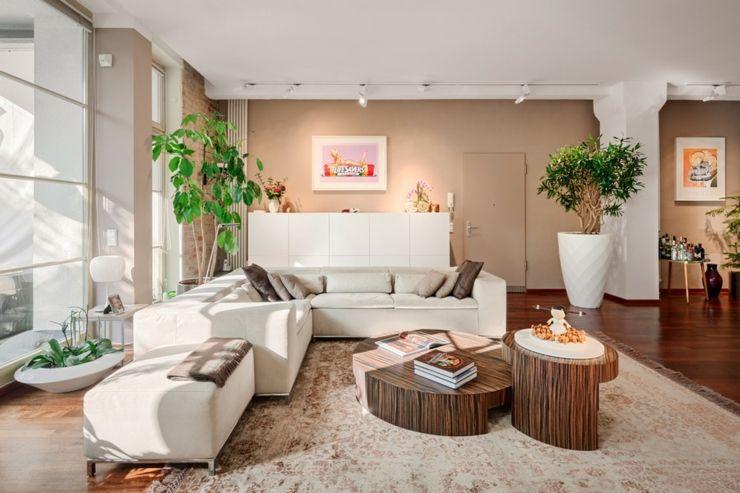 Loft design l int rieur l gant berlin decoration pinterest int rieur l gant loft et - Couleur chaude salon ...