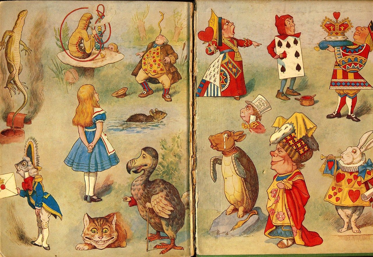 lewis carroll alice in wonderland thesis Uncanny effects in the alice tales  master's thesis  abstract in lewis carroll's alice in wonderland (1865) and through the looking-glass.
