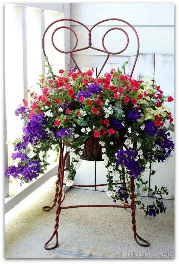 Antique ice cream parlor chairs | Gardening | Pinterest ...