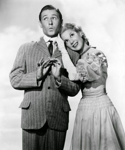 """Vintage Glamour Girls: Dinah Shore & Alan Young in """" Marshmallow Moon """""""