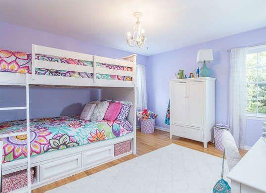 Purple Bedroom Ideas - Kids Room Paint Ideas - 7 Bright Choices