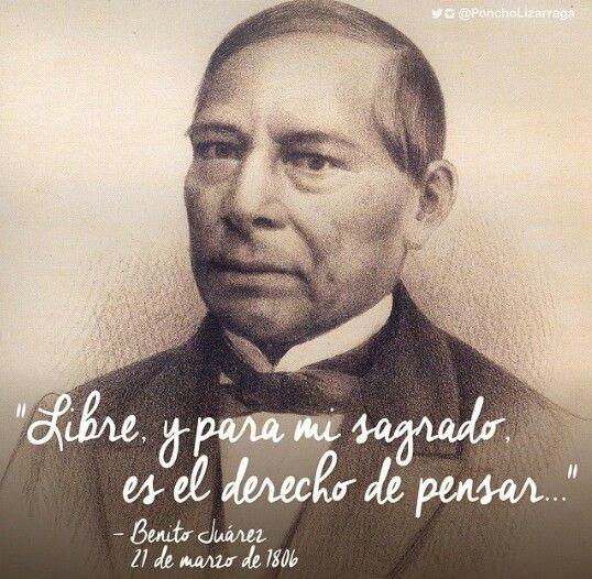 Benito Juarez Frases Motivacionales Motivacion Frases Y