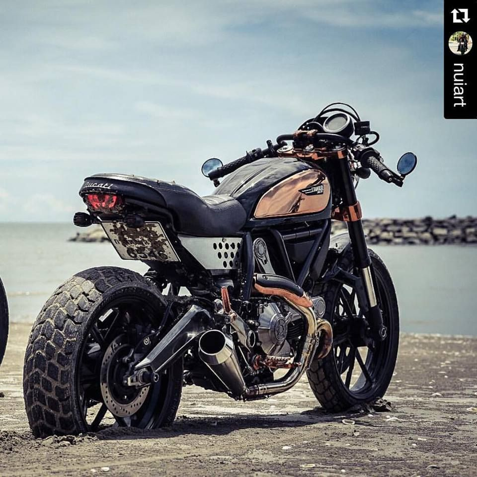 ducati scrambler mods cafe racer custom buddy osm. Black Bedroom Furniture Sets. Home Design Ideas