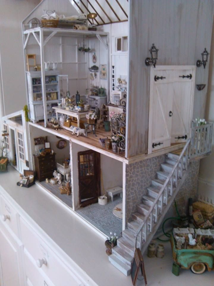 Pin By Sellei Lilla On My Favorite Dollhouses Mini Doll House My Doll House Toy House