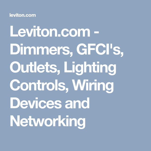 Famous Leviton 50 Amp Wiring Diagram Illustration - Wiring Ideas For ...
