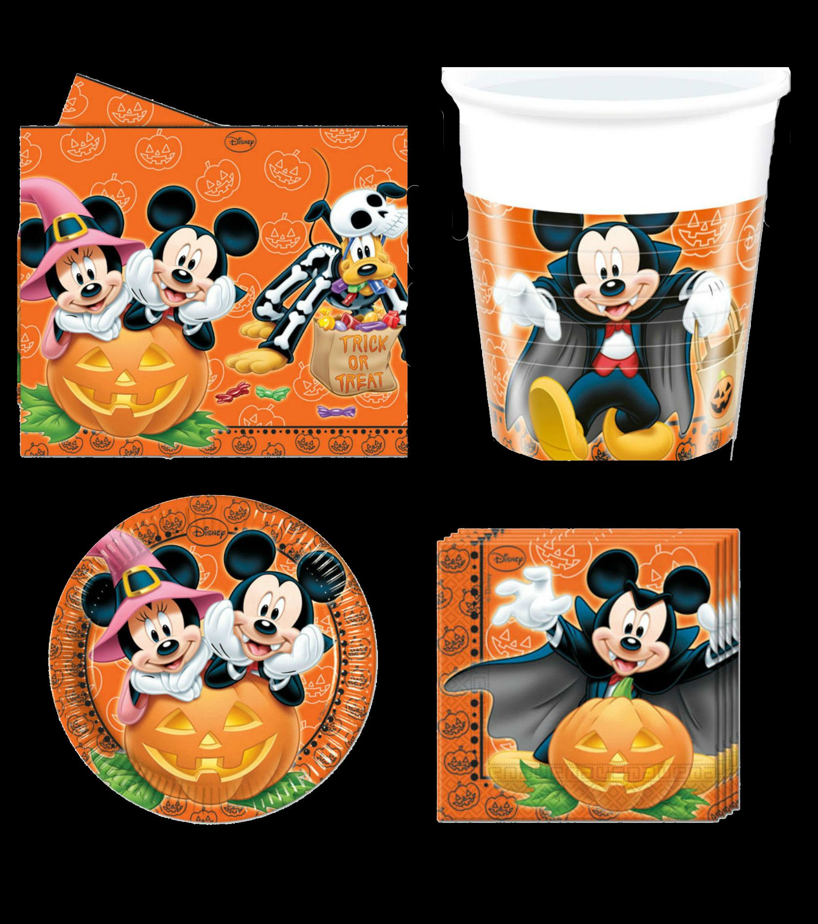 disney mickey mouse halloween party range tableware balloons decorations