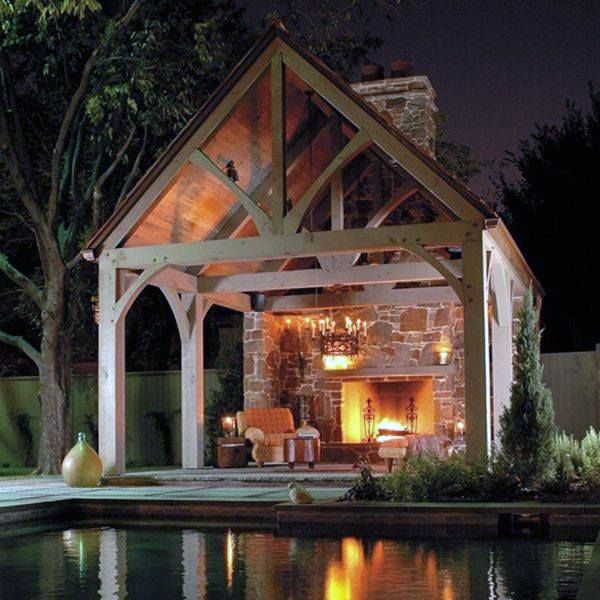 70 Outdoor Fireplace Designs For Men Cool Fire Pit Ideas Outdoor Living Outdoor Rooms Outdoor Fireplace