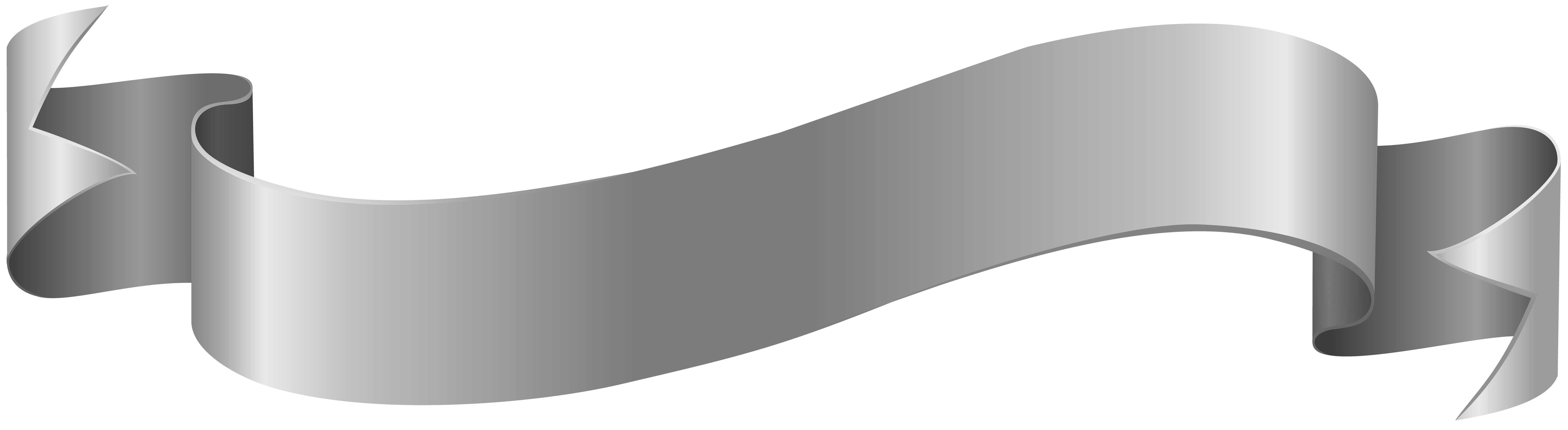 Silver Banner Clip Art PNG Image Gallery Yopriceville