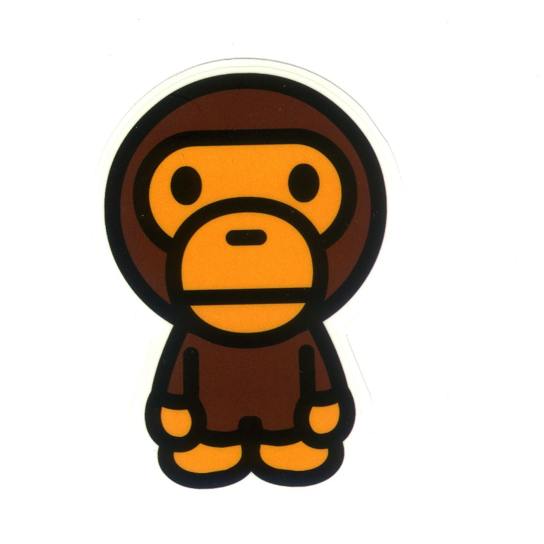 1239 Baby Milo Height 7 Cm Decal Sticker In 2019 Bape