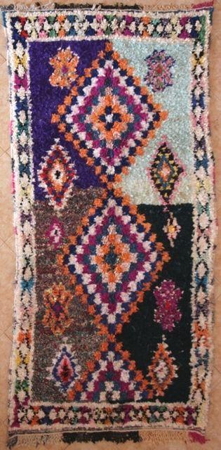 Boucherouite T31388 Beni Ouarain Moroccan Berber Rug Ebay