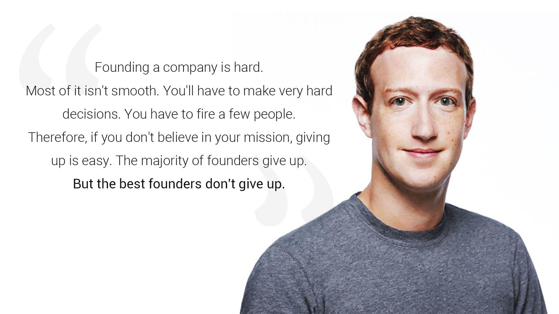 Inspirational Quote of Mark Zuckerberg Facebook founder