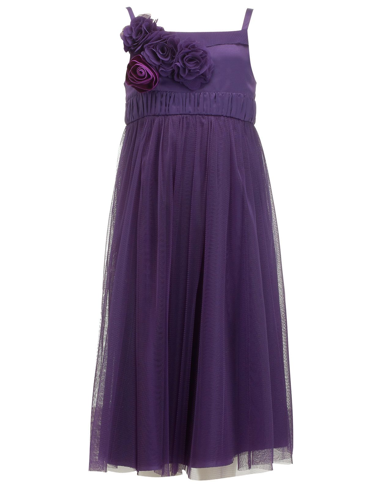 Rosalinde Dress | Purple | Monsoon | Neutrals and solids - Dresses ...