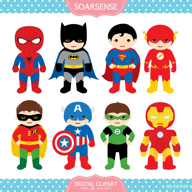 Superheroes Clipart 1 April 06 2014 At 07 34pm Imprimibles Superheroes Disfraz De Super Heroe Superheroes Infantiles
