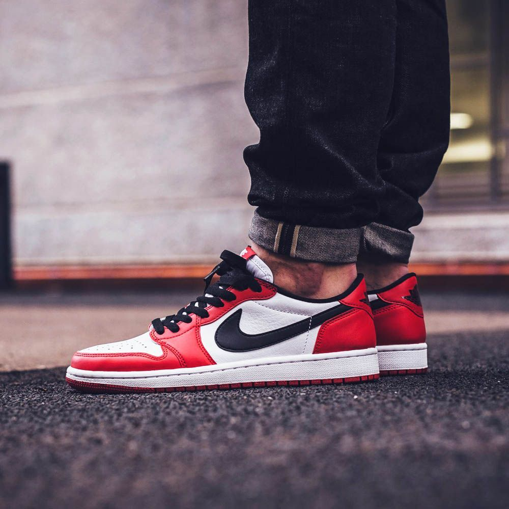 Air Jordan 1 Retro Low OG Varsity Red | Zapatillas hombre ...