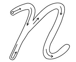 moldes letras cursivas para imprimir - Buscar con Google | Letras ...