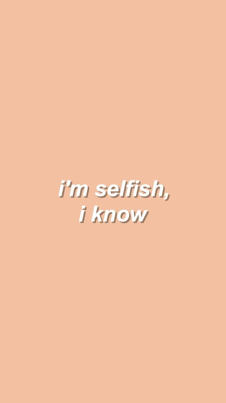 Selfish Quotes Tumblr Pin by Gouri on...