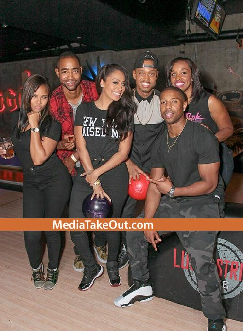 Birthday Party Pics Lala Anthony Lance Gross Michael B Jordan Amber Riley More Attend Terrence J S Birth Lala Anthony Terrence J Michael B Jordan Family