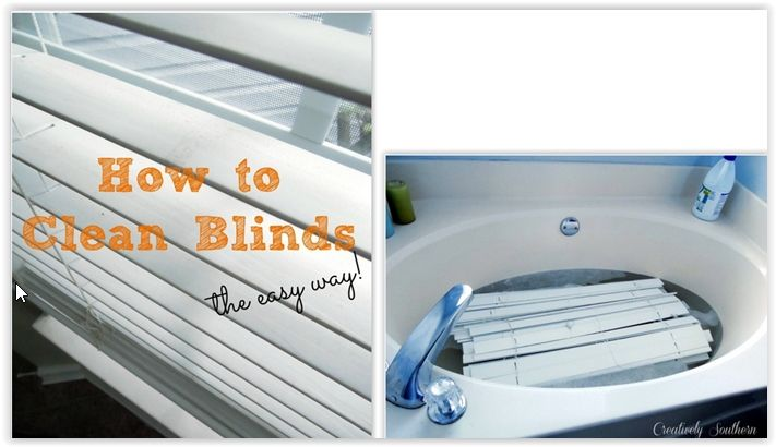 How To Clean Blinds Cleaning