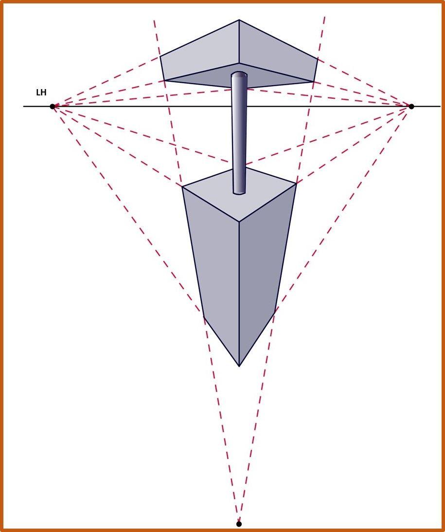 Resultat De Recherche D Images Pour Perspectiva Conica Perspective Drawing 3 Point Perspective Point Perspective