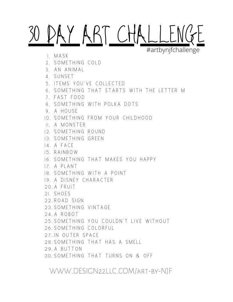 30 Day Art Challenge — DESIGN 22