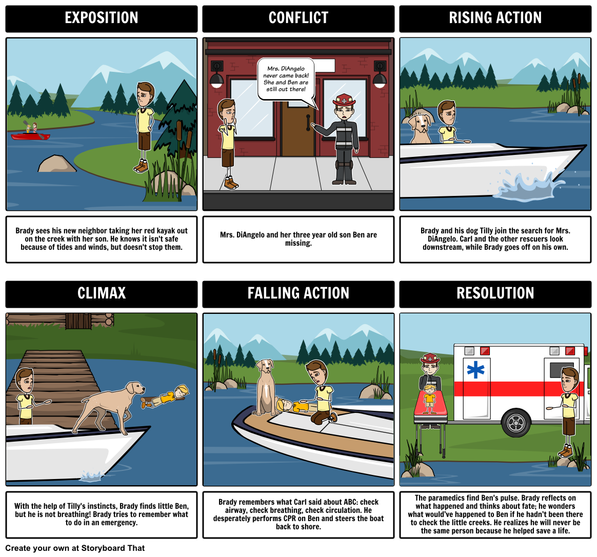 In This Activity Students Can Create A Storyboard