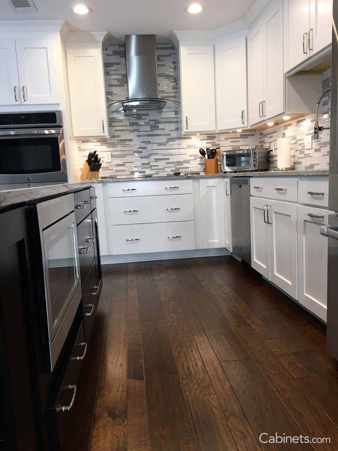 Shaker Maple Bright White Kitchen Cabinets Kitchen Cabinets Home Depot Modern Kitchen Renovation