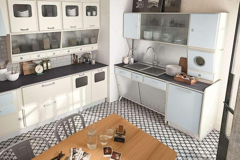 Cucine vintage Anni \'50 - Mobili vintage per la cucina | Cucina ...