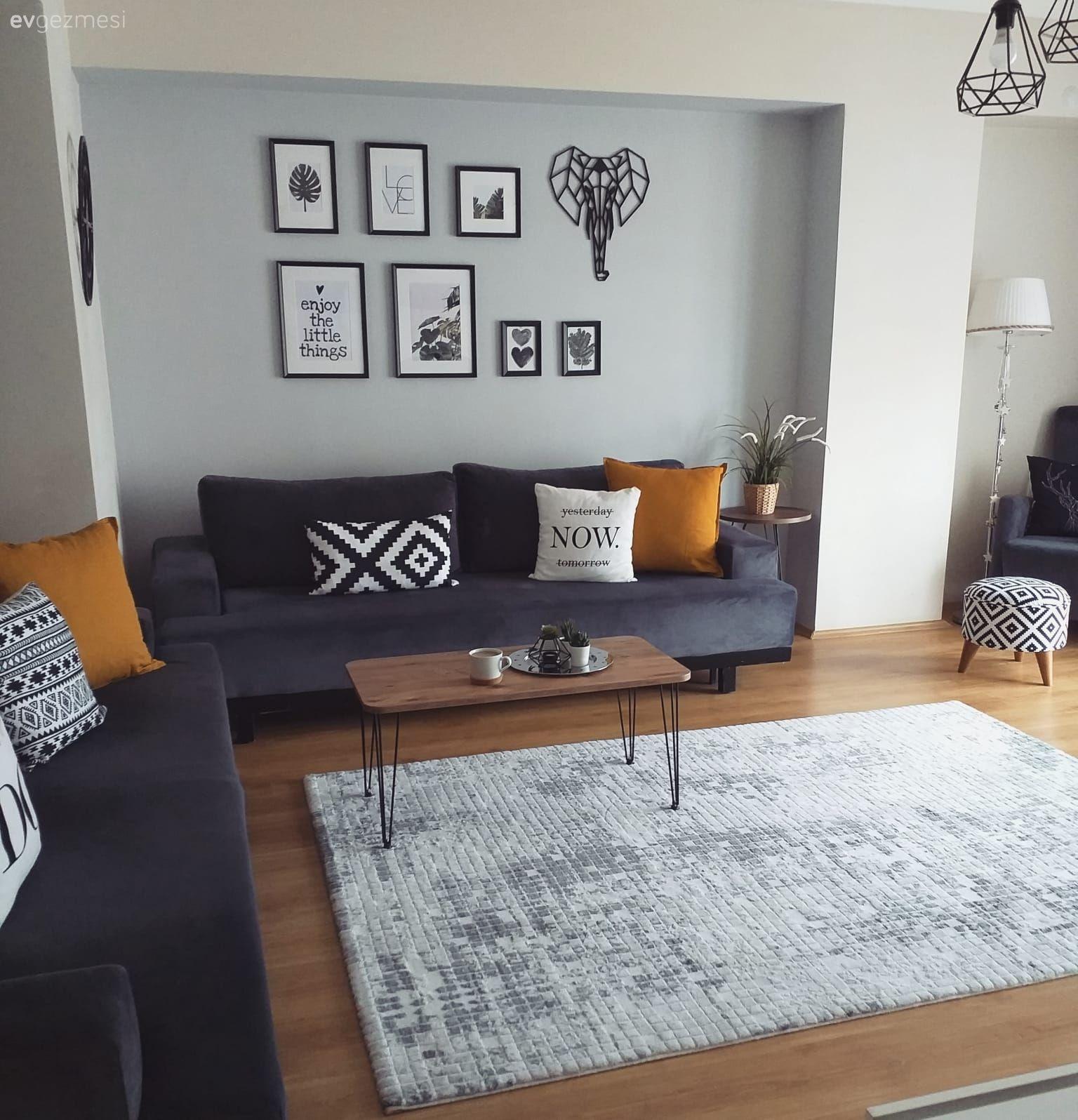 Bu Evde Modern Stil El Emegi Dokunuslar Ile Kimlik Kazanmis Ev Gezmesi Ikea Oturma Odasi Oturma Odasi Tasarimlari Oturma Odasi Takimlari