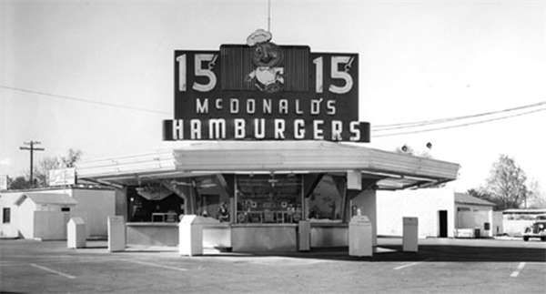On May 15 1940 Mcdonald S Opens Its First Restaurant In San