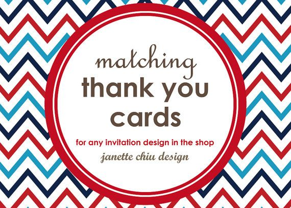 Matching Printable Thank You Cards My Shop Pinterest