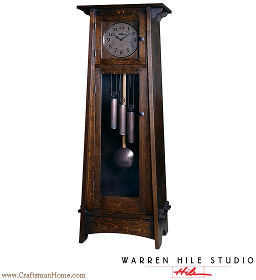 Pin By Gagan Sampla On Clocks: Bungalow Hutch, Craftsman Style Cabinet In Quarter-sawn