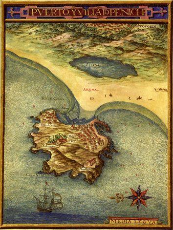 Peniche Mapa Medieval Pesquisa Google Mapas Medievais