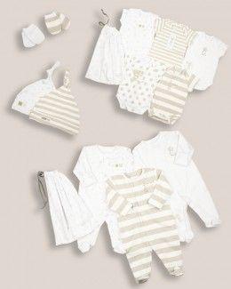Uniseks Babykleding.Unisex Baby Hospital List 14 Piece Starter Set Hospital Bag View