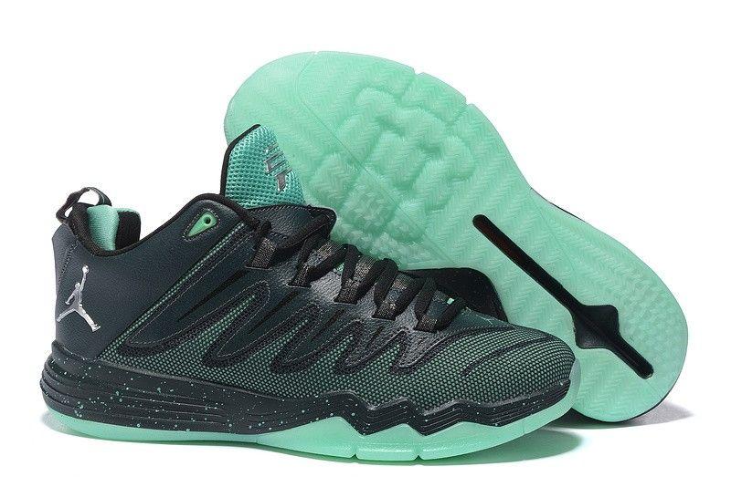 c7c8804076b Nike Jordan Men's Jordan CP3 IX Basketball Shoes Black Green,Jordan-CP3  Shoes Sale Online