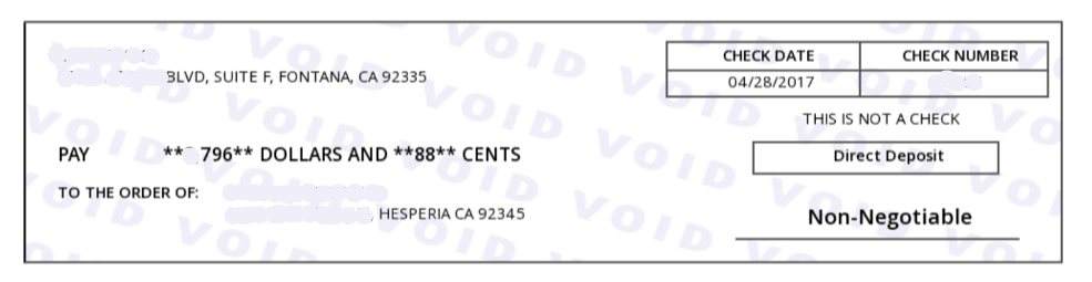 Pay Stub Maker Invoice template, Paying, Hesperia