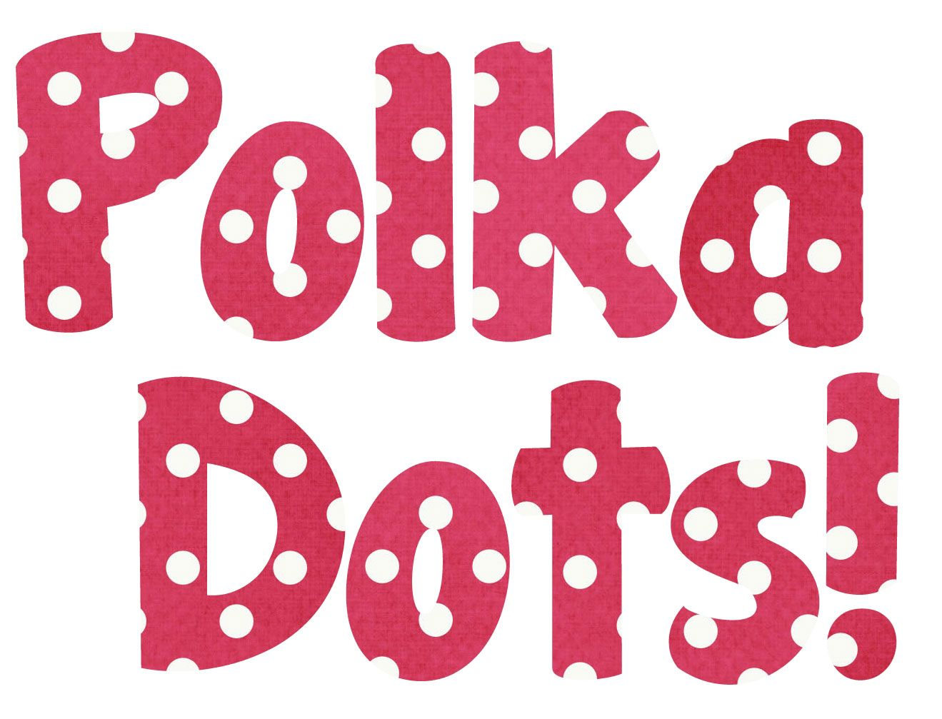 Polka Dot Bubble Letter Freebie and Flash Sale in 2018 | Polka Dots ...