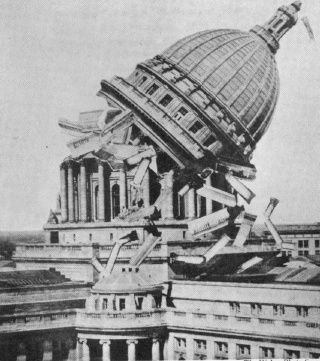 Wisconsin April Fools Day Prank >> April 1 1933 Madison Wi The Capital Times Ran This Photo On Its