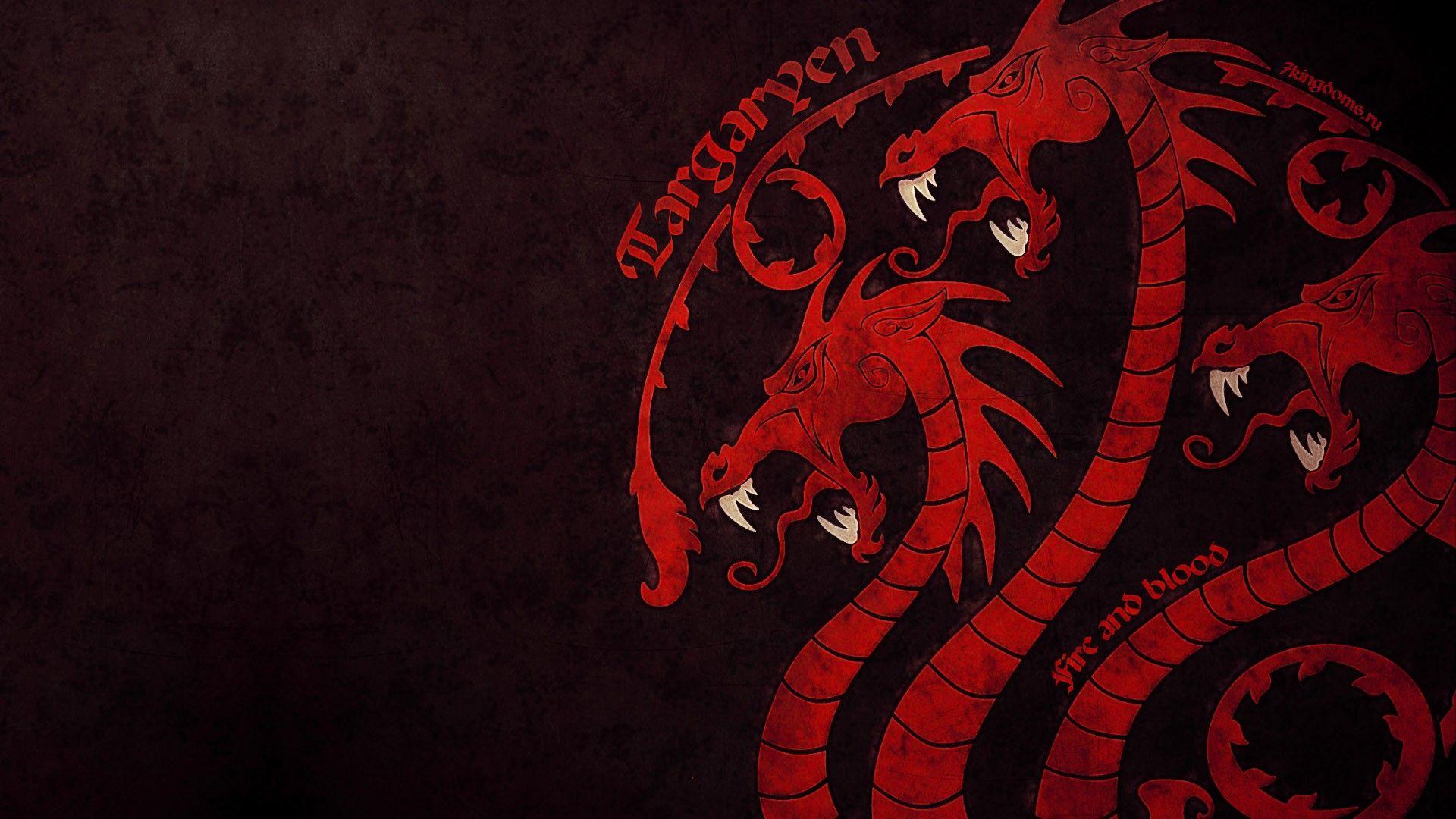 Game Of Thrones Computer Wallpapers Desktop Backgrounds 1920x1080 Id 396999 Game Of Thrones Art Targaryen Sigil Game Of Thrones Dragons