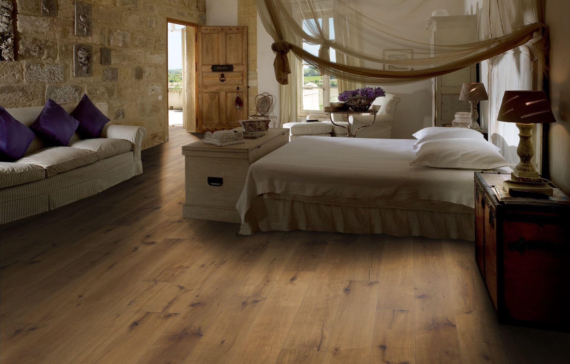 Oak Tan Engineered oak flooring, Engineered wood floors