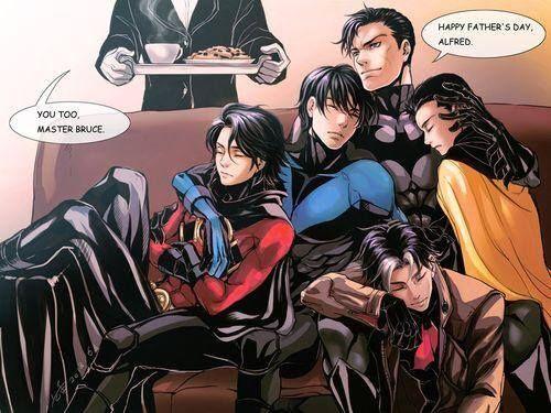 My favorite bat family. :)