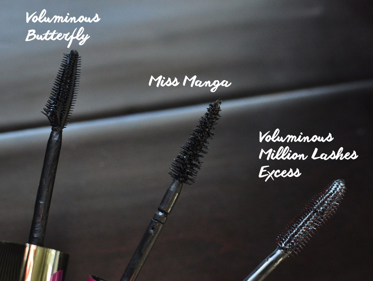 3f65ba441f8 L'Oreal Voluminous Million Lashes Excess Comparison to Voluminous Butterfly  and Miss Manga Mascara