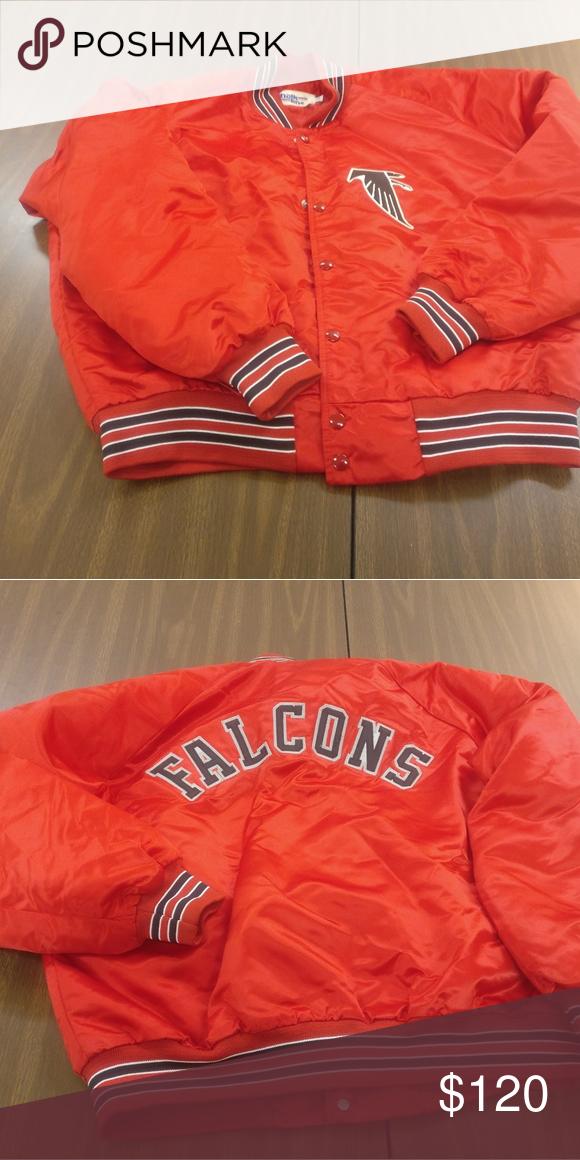5cdb48fd4 Chalkline jacket size xl falcons Vintage chalk line falcons coat. Evc  Jackets   Coats Lightweight   Shirt Jackets
