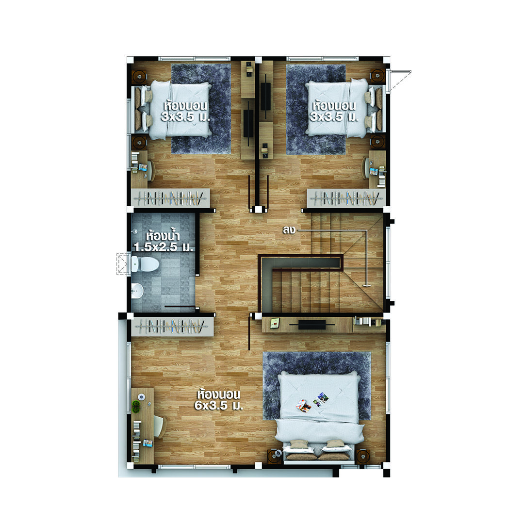 House Plans Idea 6x9 5 With 4 Bedrooms Sam House Plans House Plans Modern House Plan How To Plan