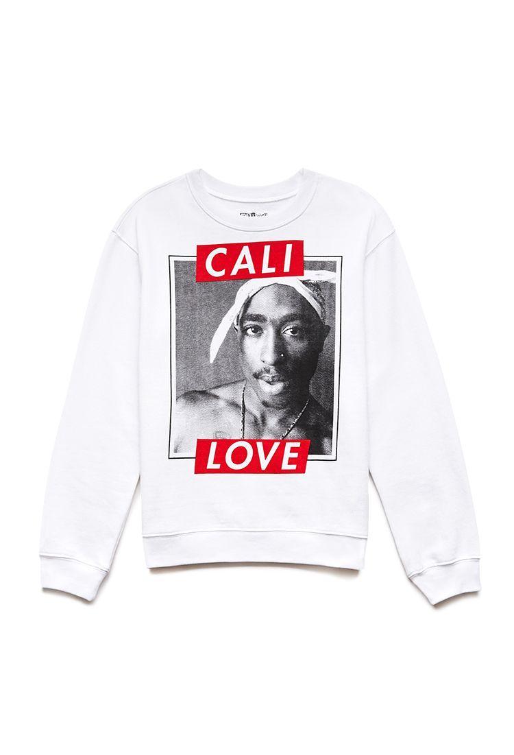 Cali Love Tupac Sweatshirt  d78371d70f0