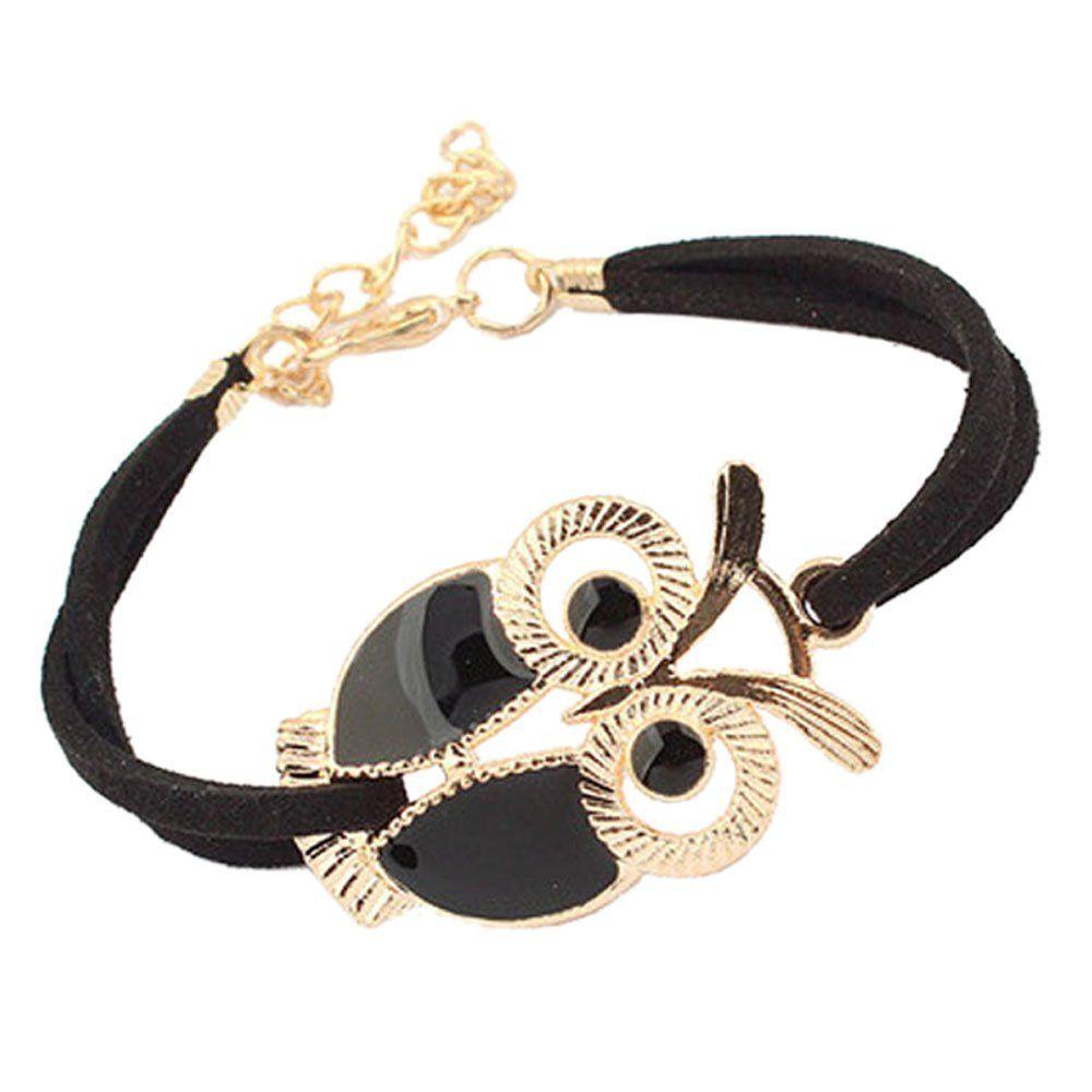 Braceletpikolai korean fashion girls vintage owl decoration faux