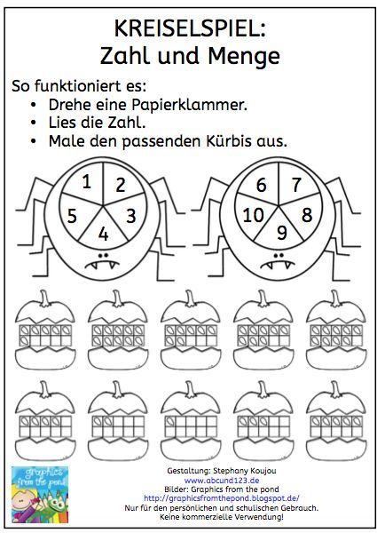Enchanting Halloween Mathe Arbeitsblatt Kindergarten Ornament ...